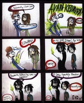 Snape kills dum…Cullen?