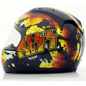 KISS Motorcycle Helmet