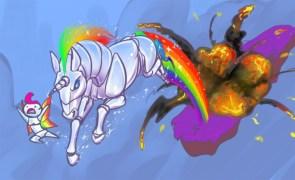Robot Unicorn Attack