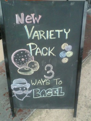 My first chalk ad