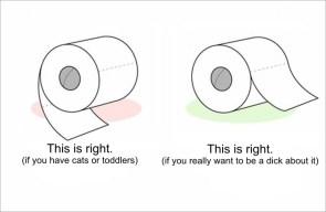 Toilet Paper Debate: solved