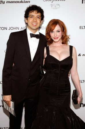 christina hendricks at the 2010 oscars
