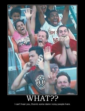 On the roller coaster