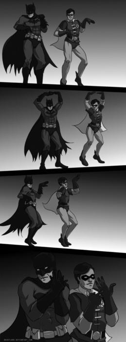 the bat dance