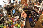 obsessive action figure collector