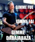 Metallica – Gimme fuel, gimme fire!