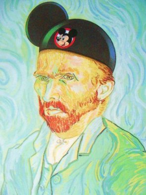 Van Gogh goes to Disneyland!