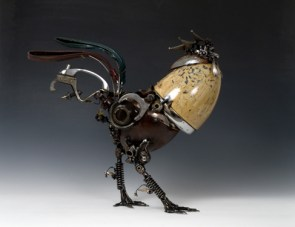 Animals made out of Car Parts