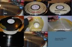 Cleaning LPs with glue