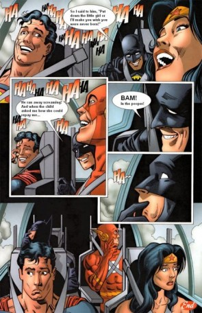 """Uncomfortable silence Batman"""