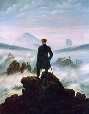 Wanderer above the Mist