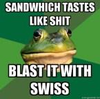 Foul Batchelor Frog
