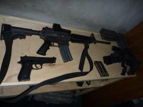 Some guns on my deployment