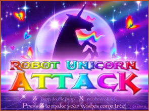 Robot Unicorn Attack Splash