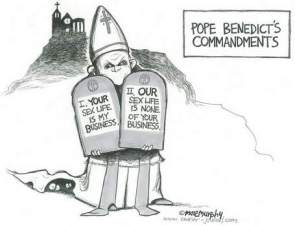 Pope Benedict's Commandments