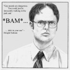 Dwight Schrute on gay people