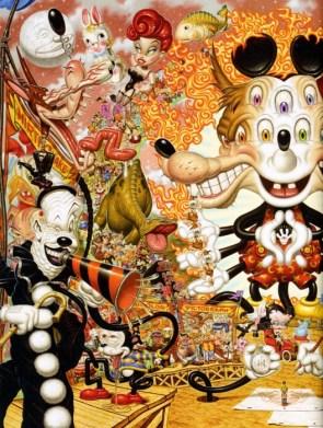 Acid Trip Cartoon Art