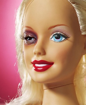 Abused Barbie