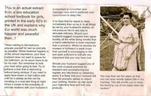 1960`s Sex Education for Women