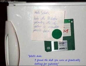Fried Floppy Disk