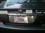 Battlestar Fan's Car
