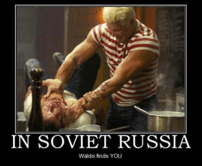 In Russia, Waldo Finds You