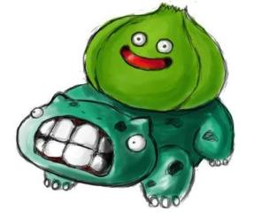 THIS IS A BULBASAUR