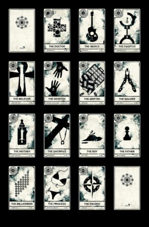 The LOST Tarot cards