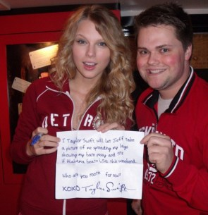 Taylor Swift's bet