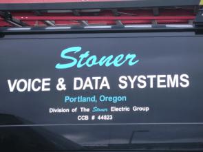 Stoner Voice & Data truck