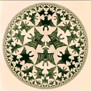 Escher's angels & demons