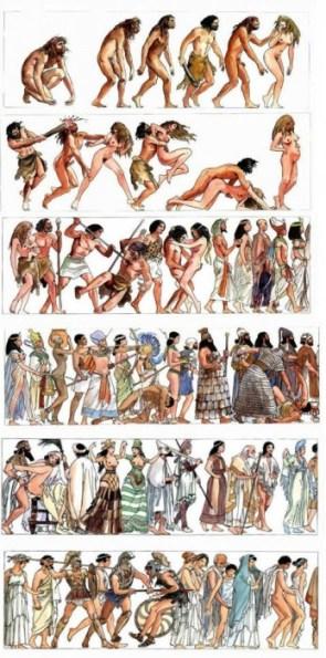 Evolution (of war & sex)