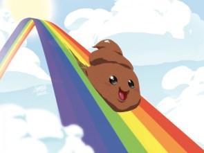 rainbow shit…