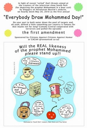 DRAW MOHAMMAD DAY!