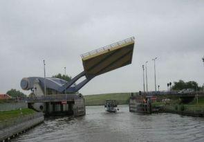 Flying Bridge in Holland.