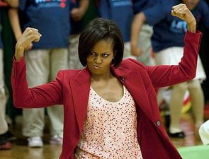 Body Building Michelle Obama