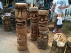 Random Tiki Carvings