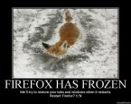 Firefox has frozen