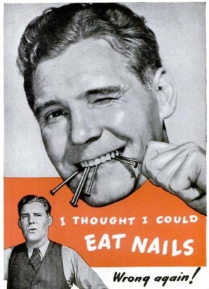 Eating Nails