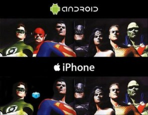 Android -v- iPhone