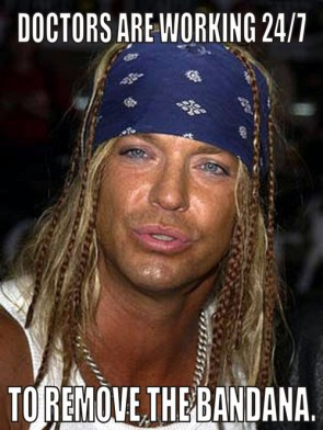 Bret Michaels is hospitalized
