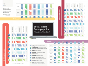 Social media demographics, who`s using what?