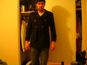 How does this ann taylor loft size 6 peacoat look?