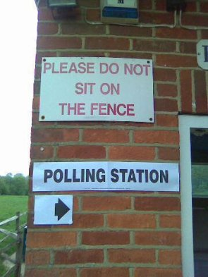 UK election day (but won't be by the time this appears)