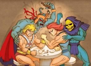 He-Man vs. Lion-O