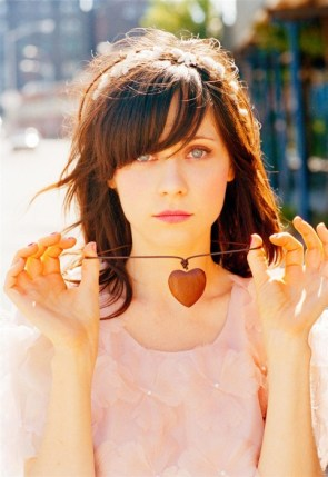 Zooey with a heart