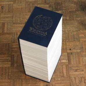 Wikipedia in Hardback