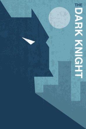 The Dark Knight Vintage poster