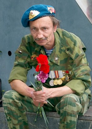 In post-Soviet Russia, Airborne brings you flowers