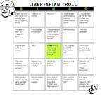 Libertarian Troll BINGO